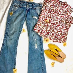 True Religion Sammy Flare Denim Jeans
